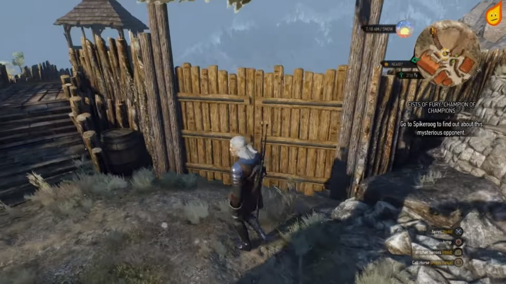 The Witcher 3: Master of the Arena, Not of the Bug - Gamepleton